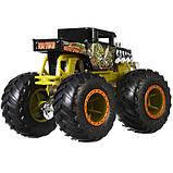 Hot Wheels Monster Jam Внедорожник джип 1:64 Scale GJF40 Bone Shaker Monster Trucks 54/75, фото 3