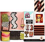 L.O.L. Surprise! S1 Куколка сюрприз мини Леди Неон 570776 JK Neon Mini Fashion Doll with 15 Surprises, фото 6