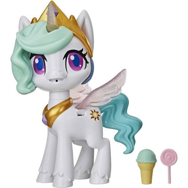 My Little Pony Интерактивная пони Принцесса Селестия E9107 Magical Kiss Unicorn Princess Celestia