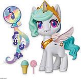 My Little Pony Интерактивная пони Принцесса Селестия E9107 Magical Kiss Unicorn Princess Celestia, фото 3