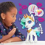 My Little Pony Интерактивная пони Принцесса Селестия E9107 Magical Kiss Unicorn Princess Celestia, фото 6