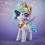 My Little Pony Интерактивная пони Принцесса Селестия E9107 Magical Kiss Unicorn Princess Celestia, фото 8