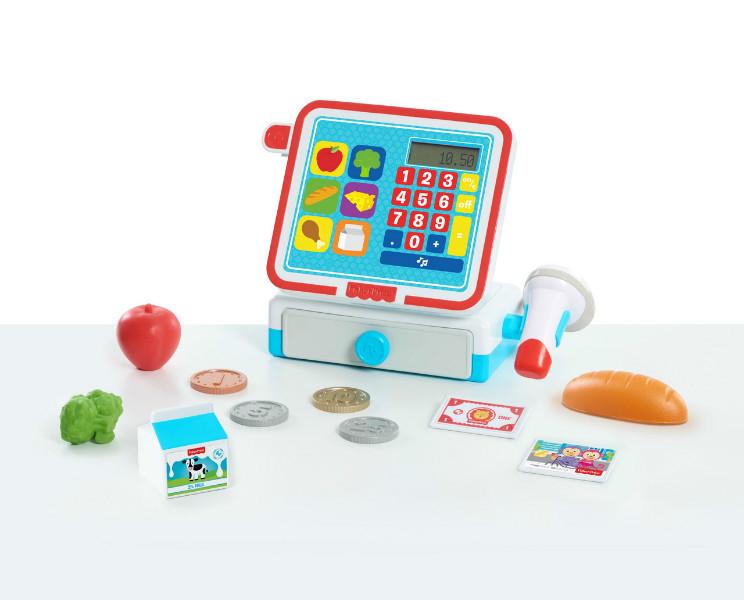 Fisher-Price Детская Кассовый аппарат касса Cash Register