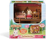 Sylvanian Families Calico Critters Дом коттедж Шоколадного Кролика 2055 Cozy Cottage Starter Home, фото 4