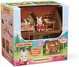 Sylvanian Families Calico Critters Дом коттедж Шоколадного Кролика 2055 Cozy Cottage Starter Home, фото 2