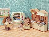 Sylvanian Families Calico Critters Кухня с холодильником CC1810 Kitchen Play Set, фото 4