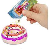 Poopsie Слайм пончик Донат Хрустящий 569275 Slime Smash Candy Craze with Crunchy Donut Slime, фото 3