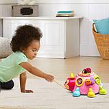 VTech Интерактивная божья коровка сортер 80-522350 Crazy Legs Learning Bugs Pink, фото 5