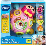 VTech Интерактивная божья коровка сортер 80-522350 Crazy Legs Learning Bugs Pink, фото 6