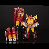 Transformers Трансформер 4в1 Родимус Прайм Хот Род E0902 Rodimus Hot Rod Power of the Primes Leader, фото 2