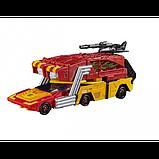 Transformers Трансформер 4в1 Родимус Прайм Хот Род E0902 Rodimus Hot Rod Power of the Primes Leader, фото 3