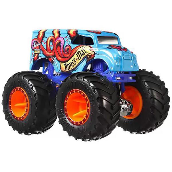 Hot Wheels Monster Jam Внедорожник джип 1:64 Scale GJF18 Abyss-Mal  Monster Trucks 52/75