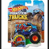Hot Wheels Monster Jam Внедорожник джип 1:64 Scale GJF18 Abyss-Mal  Monster Trucks 52/75, фото 2