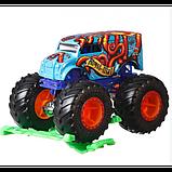 Hot Wheels Monster Jam Внедорожник джип 1:64 Scale GJF18 Abyss-Mal  Monster Trucks 52/75, фото 3