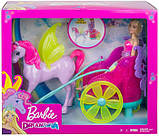 Barbie Барби с лошадью и колесницей Дримтопия GJK53 Dreamtopia Horse and Chariot, фото 4