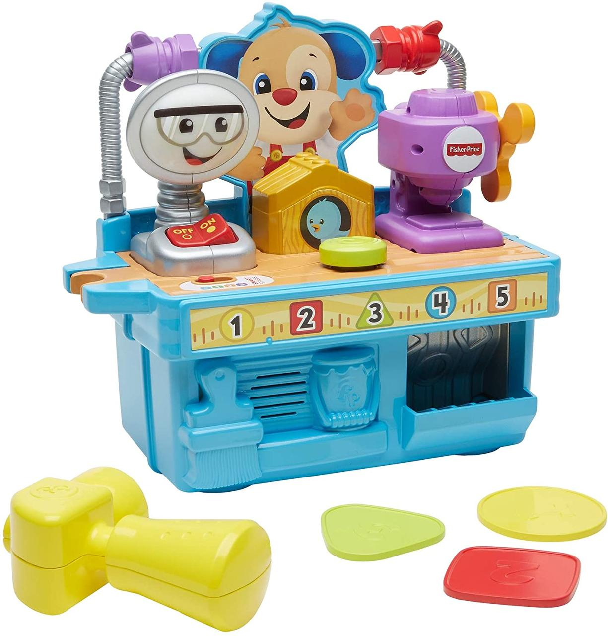 Fisher-Price Мастерская умного щенка FYK55 Busy Learning Tool Bench