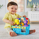 Fisher-Price Мастерская умного щенка FYK55 Busy Learning Tool Bench, фото 4