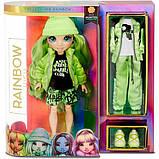 Rainbow High Радужные девочки Джейд Хантер зеленая 2020 569664 Jade Hunter Green Fashion Doll, фото 5