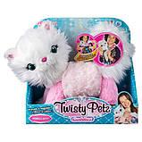 Twisty Petz Плюшевый кот кошка браслет Сновпуф 6054693 Cuddlez Snowpuff Kitty Transforming Collectible Plush, фото 4