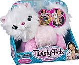 Twisty Petz Плюшевый кот кошка браслет Сновпуф 6054693 Cuddlez Snowpuff Kitty Transforming Collectible Plush, фото 6