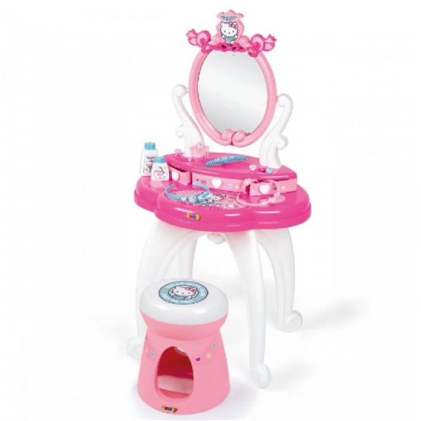 Smoby Дитячий туалетний столик зі стільчиком хеллоу кітті 320239 Hello Kitty