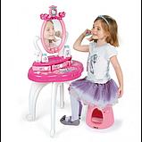 Smoby Дитячий туалетний столик зі стільчиком хеллоу кітті 320239 Hello Kitty, фото 3