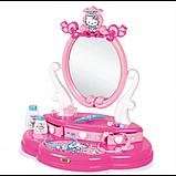 Smoby Дитячий туалетний столик зі стільчиком хеллоу кітті 320239 Hello Kitty, фото 4