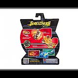 Screechers Wild S2 L1 Дикие Скричеры Машинка трансформер Сэндсторм Тайд EU684201V sandstorm tide jogress flip, фото 3
