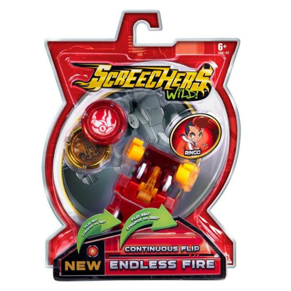Screechers Wild S2 L1 Дикі Скричеры Машинка трансформер Эндлес Файэр EU684102 endless fire jogress flip