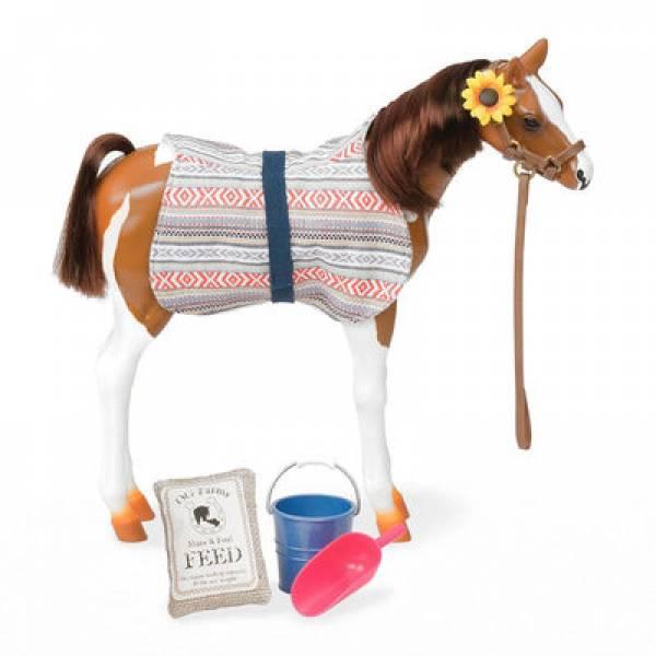 Battat Our Generation Лошадка лошадь Жеребенок породы Пинто Пасo BD38019Z hourse Pinto Paso Pino Foal