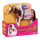 Battat Our Generation Лошадка лошадь Жеребенок породы Пинто Пасo BD38019Z hourse Pinto Paso Pino Foal, фото 3