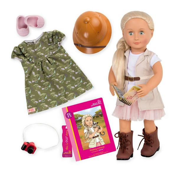 Battat Our Generation лялька любителька сафарі BD31164ATZ Deluxe naya