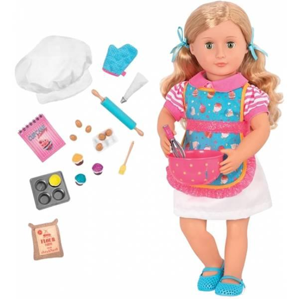 Battat Our Generation Дженні лялька пекар BD31173Z Deluxe jenny Baking