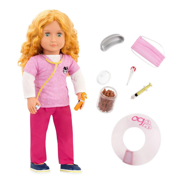 Battat Our Generation кукла Анаис Анез ветеринар BD31157Z Deluxe anais vet doll