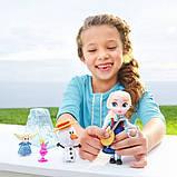 Disney Animators Холодное сердце Эльза в чемоданчике Collection Frozen Elsa Mini Doll, фото 2