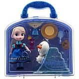 Disney Animators Холодное сердце Эльза в чемоданчике Collection Frozen Elsa Mini Doll, фото 3