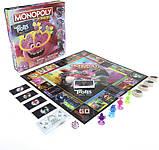 Hasbro Настольная игра Монополия тролли Мировой тур E7496 Monopoly Junior DreamWorks Trolls World Tour Edition, фото 5