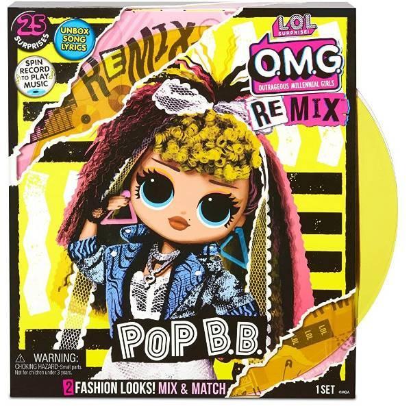 L. o.l. surprise! s4 лялька сюрприз Диско Леді ремікс 567257 o.m.g. Pop remix B. B. doll