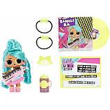 L. o.l. surprise! s4 w1 лялька сюрприз з волоссям ремікс Музичний сюрприз 566960 Remix Hair Flip Dolls, фото 3