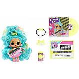 L. o.l. surprise! s4 w1 лялька сюрприз з волоссям ремікс Музичний сюрприз 566960 Remix Hair Flip Dolls, фото 4