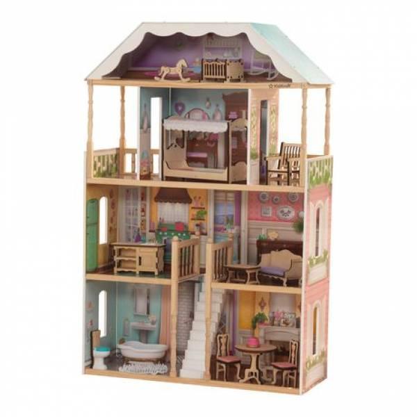 KidKraft дерев'яний Ляльковий будиночок Шарлотта 65956 Charlotte Dollhouse