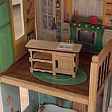 KidKraft дерев'яний Ляльковий будиночок Шарлотта 65956 Charlotte Dollhouse, фото 2