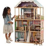 KidKraft дерев'яний Ляльковий будиночок Шарлотта 65956 Charlotte Dollhouse, фото 8