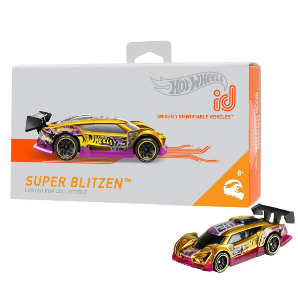 Hot wheels id S1 машинка гонка супер вспышка 02/05 FXB20 super blitzen hw Race Team toy car