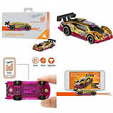Hot wheels id S1 машинка гонка супер вспышка 02/05 FXB20 super blitzen hw Race Team toy car, фото 4