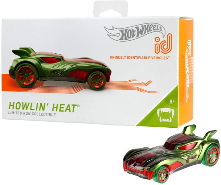 Hot wheels id S1 машинка гонка хелоуин 01/05 FXB08 Howlin' Heat street beasts toy car