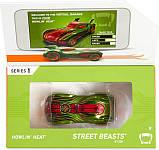 Hot wheels id S1 машинка гонка хелоуин 01/05 FXB08 Howlin' Heat street beasts toy car, фото 6