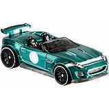 Hot wheels id S1 машинка гонка Ягуар 06/06 FXB18 15 Jaguar F-Type Project 7 fresh factory toy car, фото 5