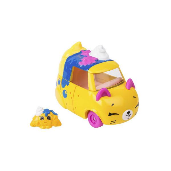 Shopkins Cutie Cars S3 Мини-машинка Седан-круасан 56749 Berry Fast Croissant Die Cast  #QT2-15