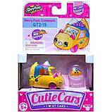 Shopkins Cutie Cars S3 Мини-машинка Седан-круасан 56749 Berry Fast Croissant Die Cast  #QT2-15, фото 2